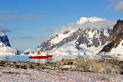 Polar Star at anchor off Petermann Island