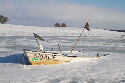 Fisketuren er aflyst pga. is og sne