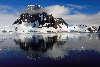 Lemaire kanalen på Antarktis