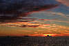 Solnedgang på Sydshetlandsøerne